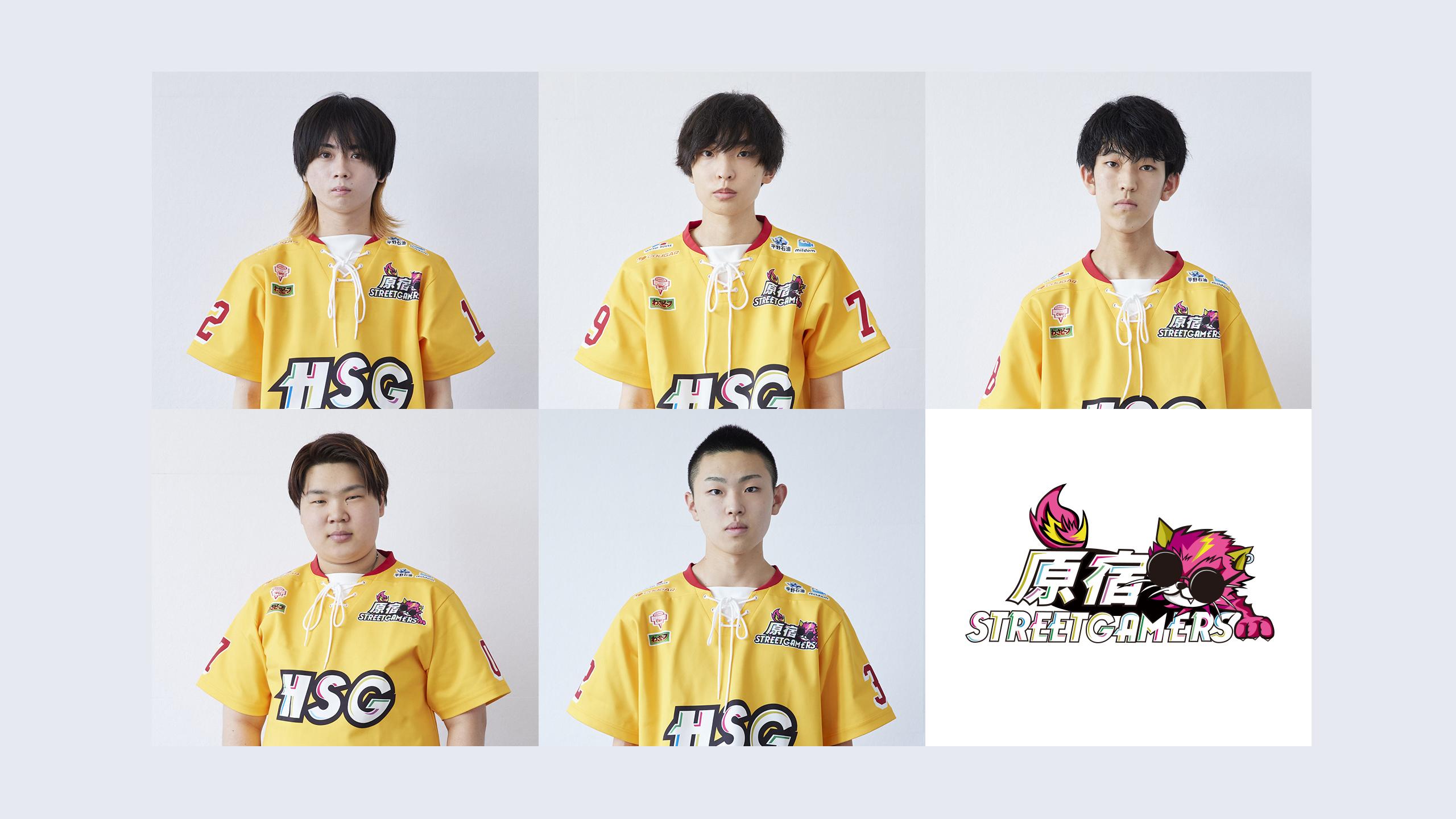 【新ユニ】選手5名+ロゴの6等分